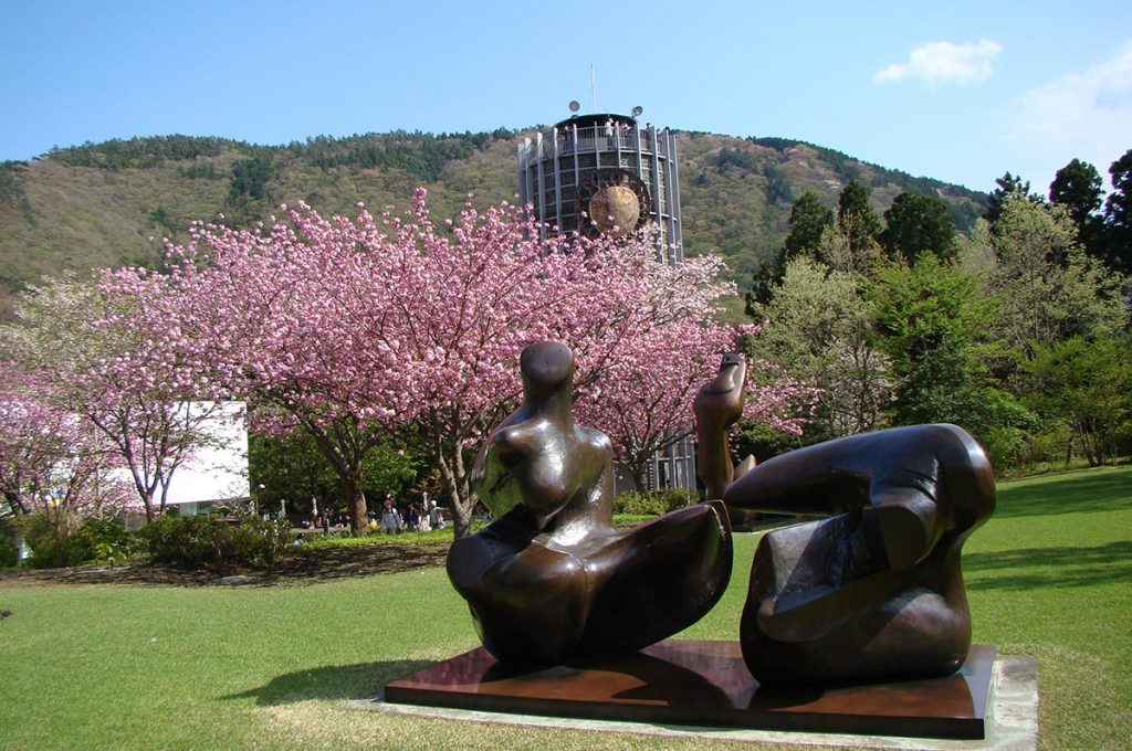 Cherry Blossom Festival Japan Hakone Open-Air Museum
