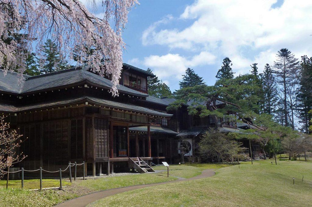 Cherry Blossom Festival Japan Nikko Tamozawa Imperial Villa Memorial Park