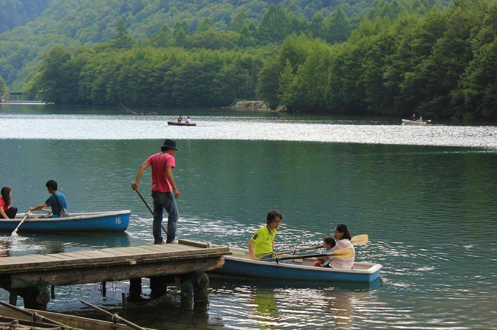 Kamikochi Taisho Pond Boat