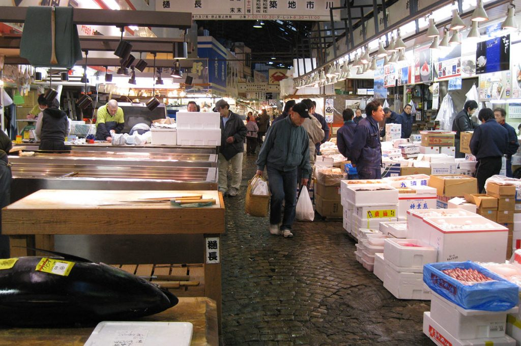 Things to do in Tokyo Tsukiji fish market