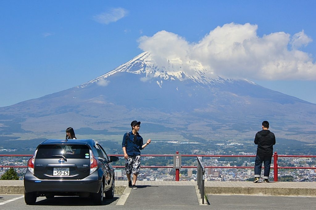Climbing Mt Fuji Where to Climb