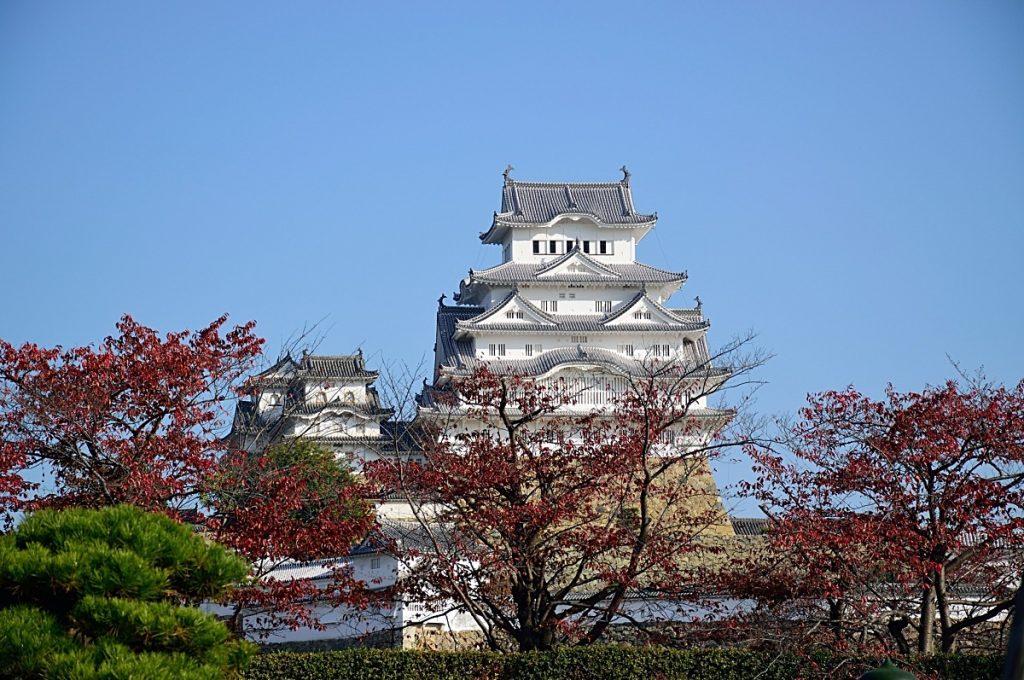 Himeji Castle Front View