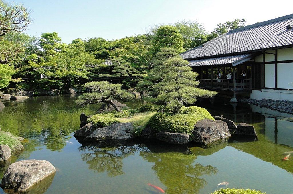 Himeji Castle Kokoen Garden