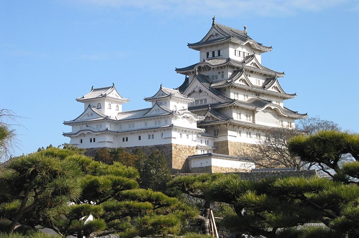 Himeji Castle side view