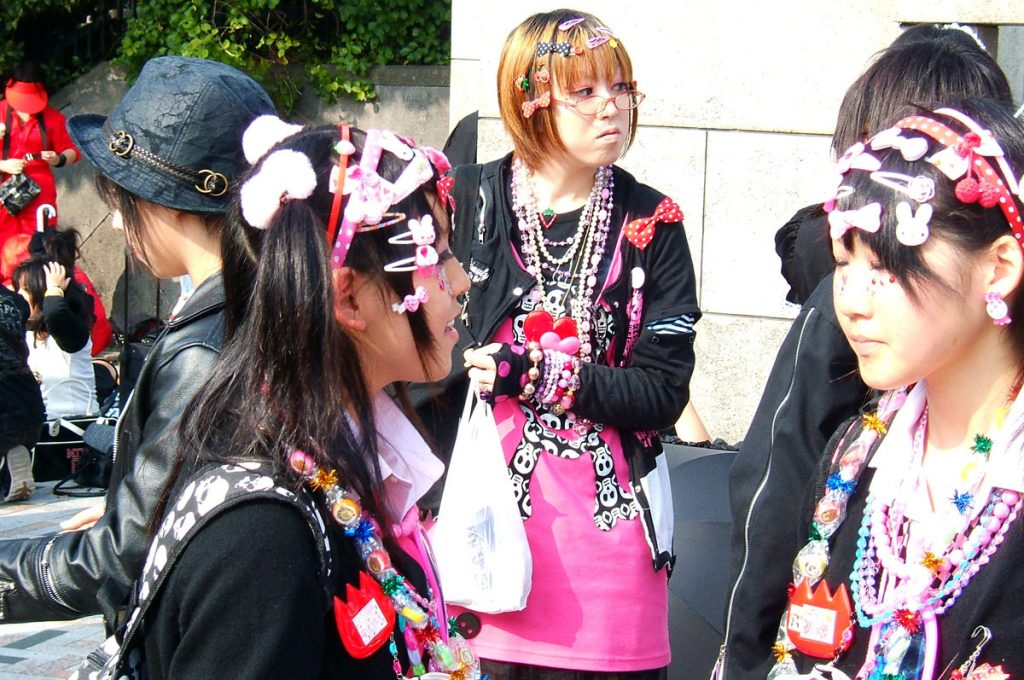 Kawaii Fashion Harajuku the place to be girls