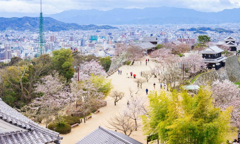 Matsuyama City Japan