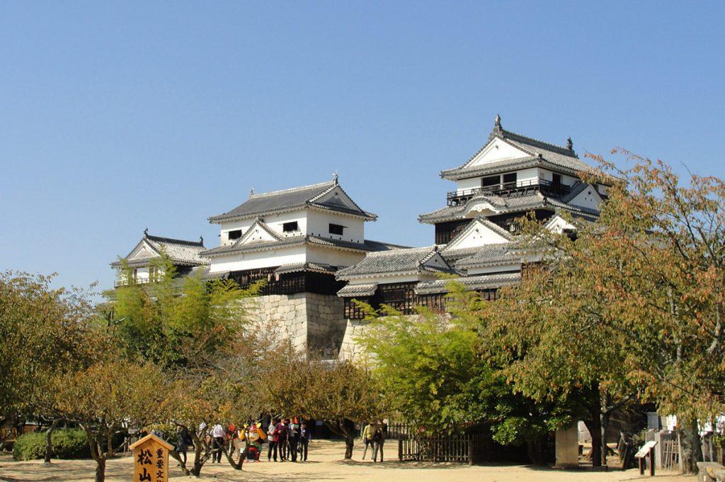 Matsuyama Japan Places to visit Matsuyama Castle