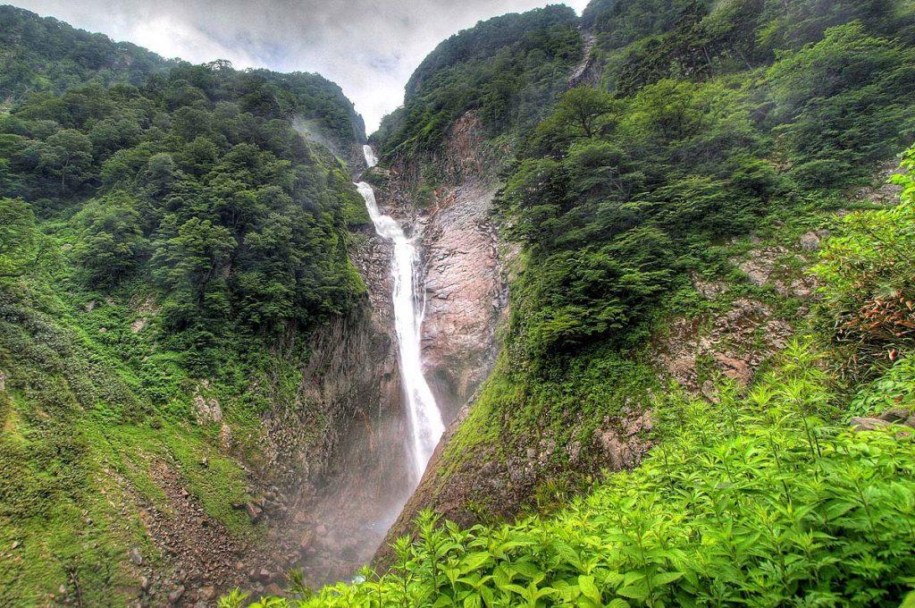 Toyama Japan Place to visit Shomyo Waterfalls