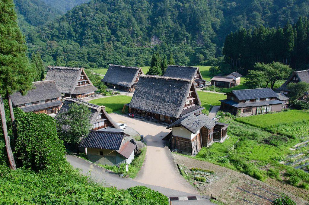 Toyama Japan Places to visit Gokayama
