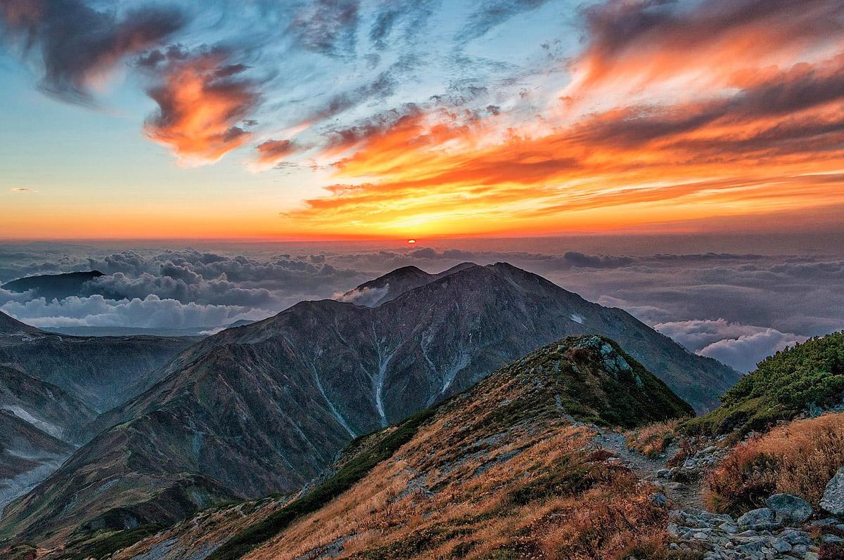 Toyama Japan Places to visit Tateyama Mountain Range