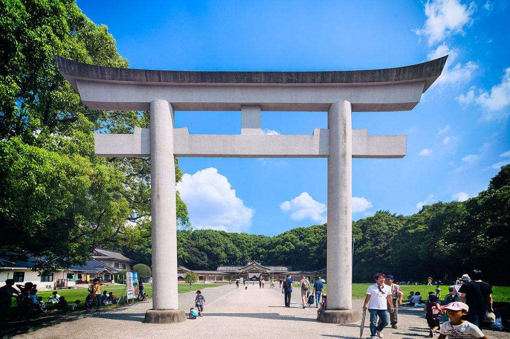Toyama Japan Places to visit Toyama Gokoku Shrine