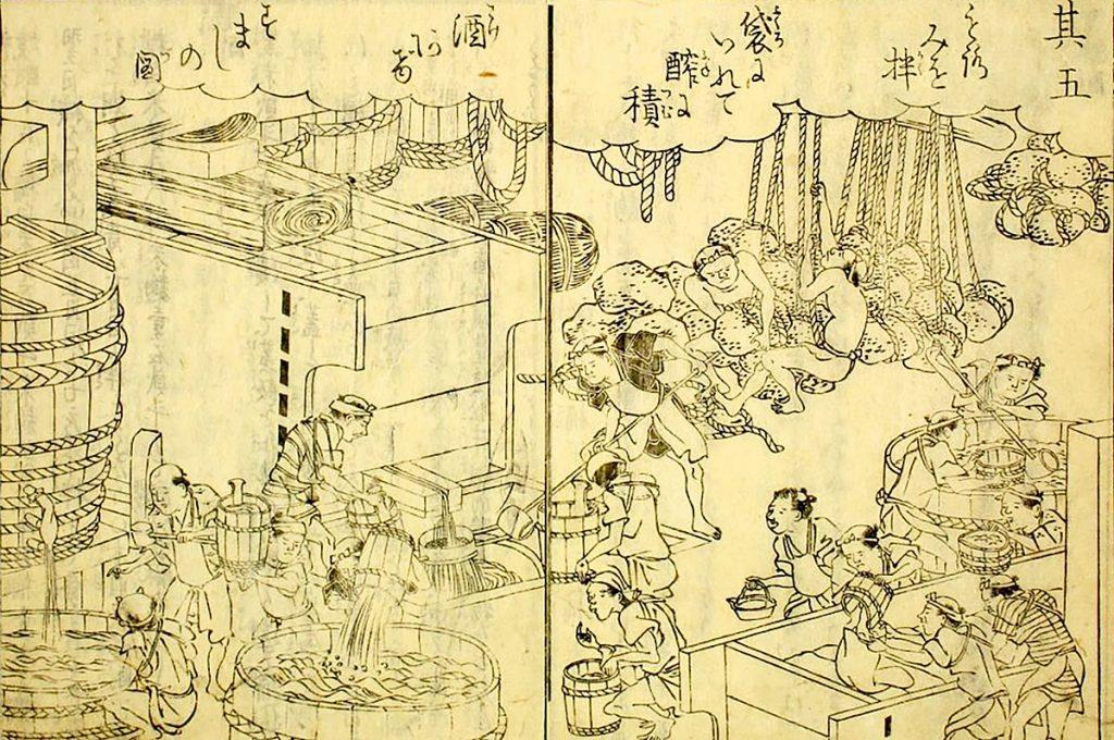 Ukiyo-e History and origins