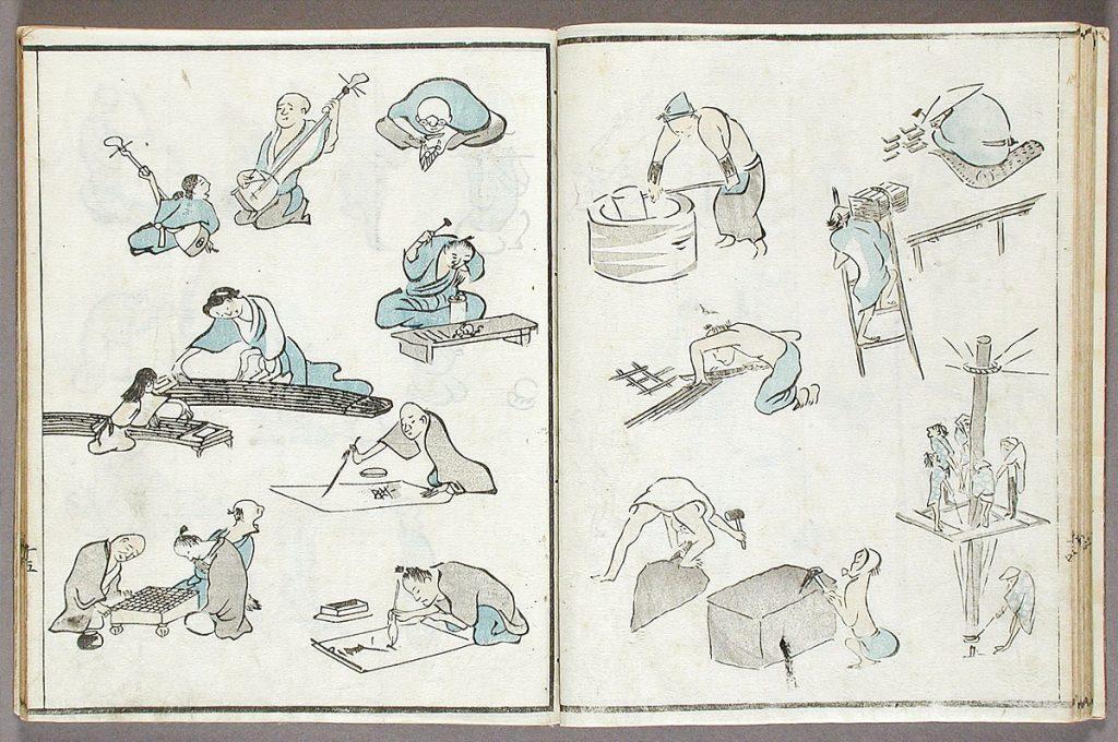 Ukiyo-e History and origins life