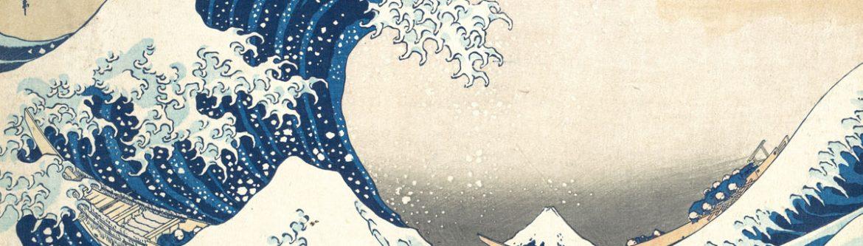 Ukiyo-e Under the Wave off Kanagawa Katsushika Hokusai