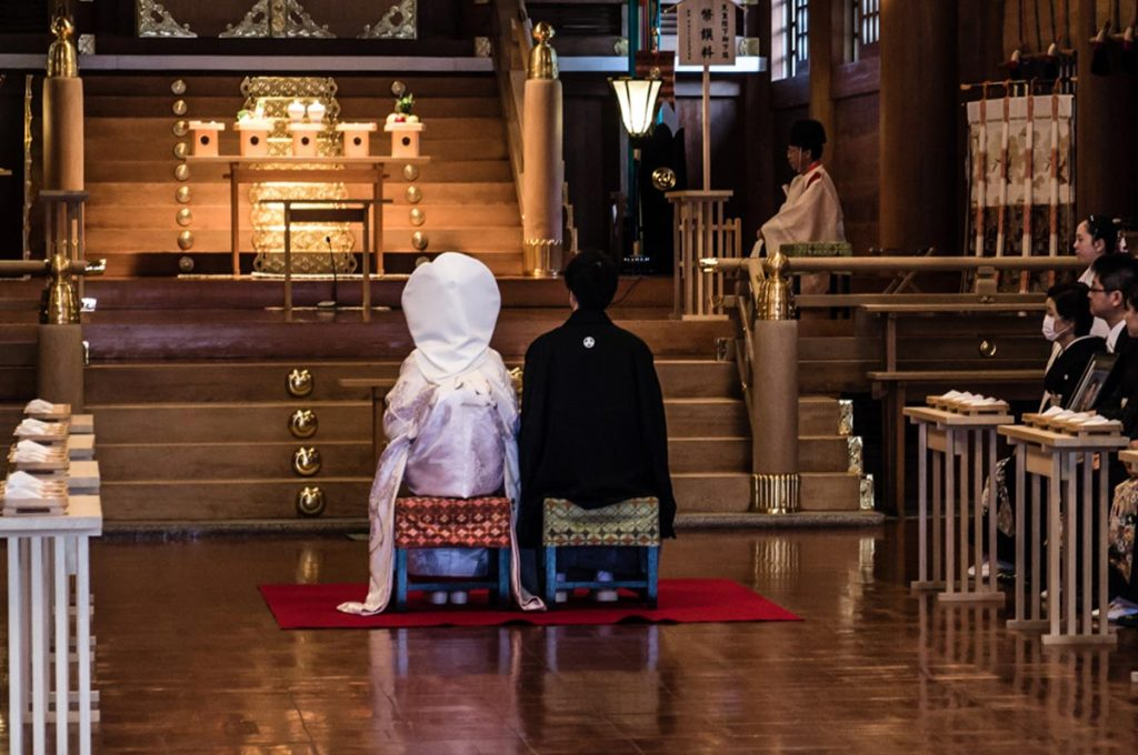 Wedding Traditions in Japan Ceremony
