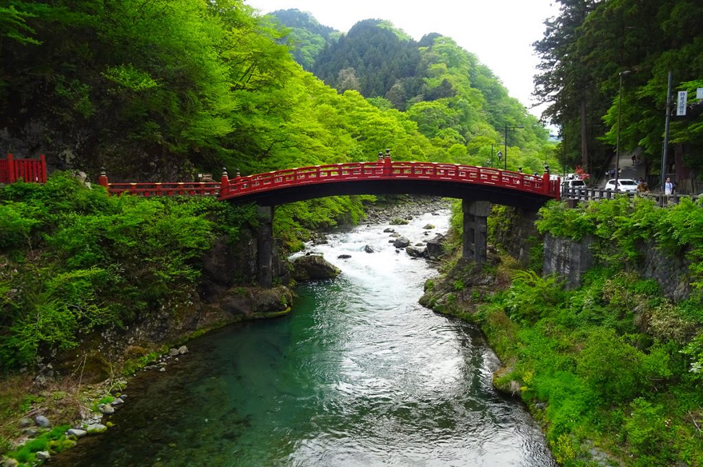 Nikko Japan Shinkyo Bridge
