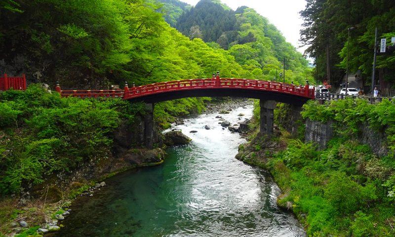 Nikko Japan Shinkyo Bridge