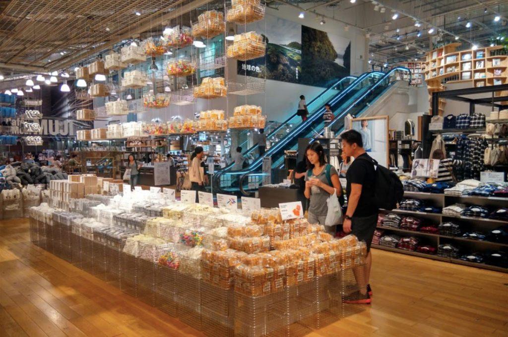 Ginza Shopping Muji