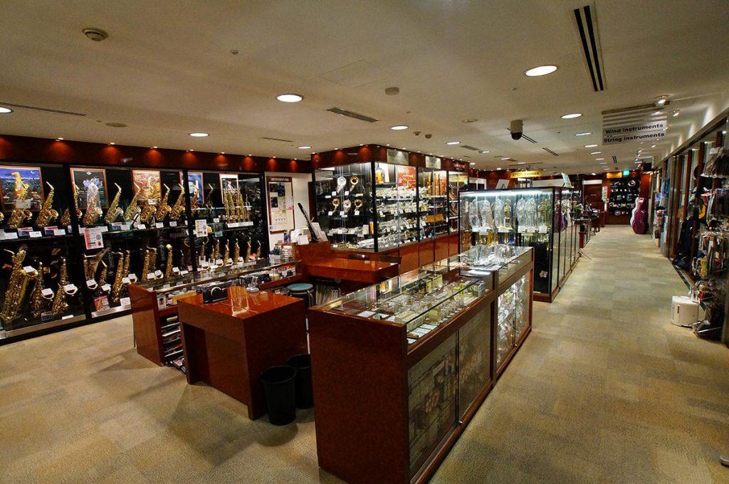 Ginza Shopping Yamano Music