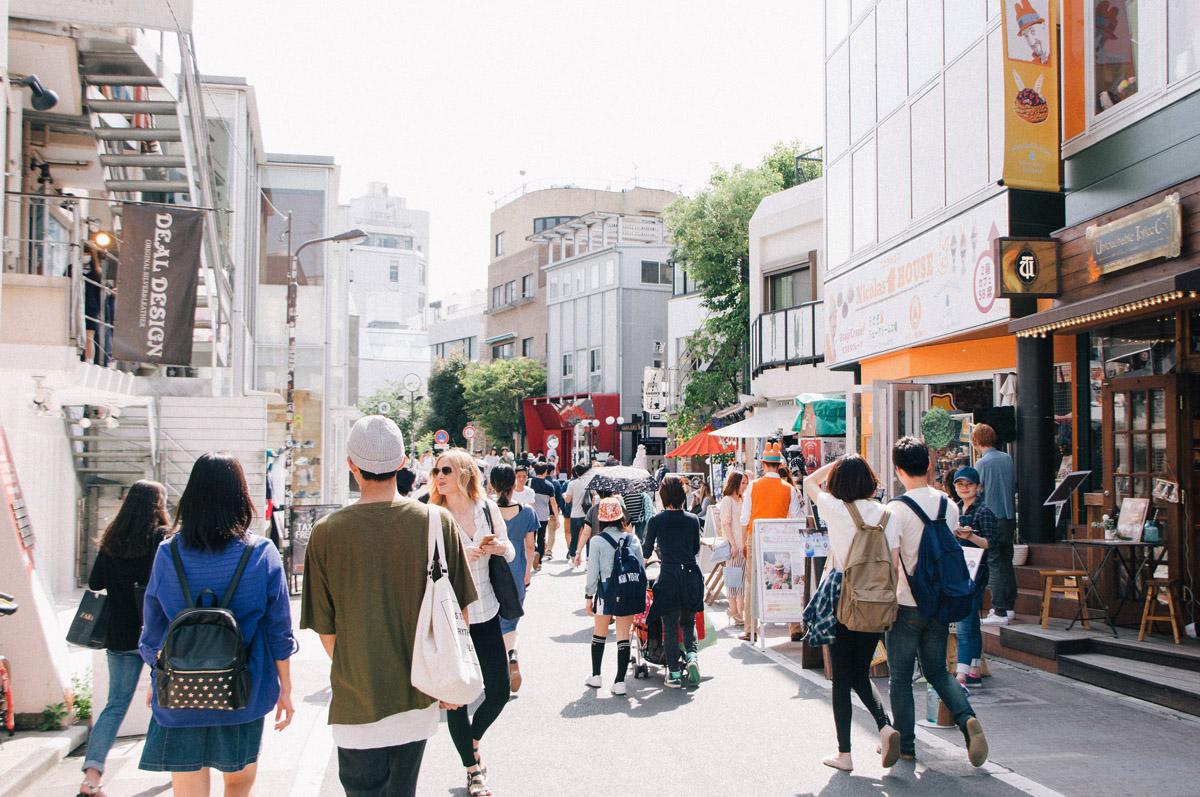 Harajuku Shopping Cat Street