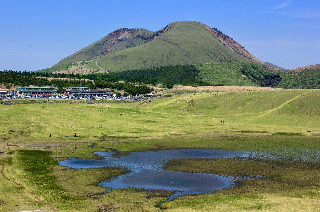 Kumamoto Japan Mount Aso