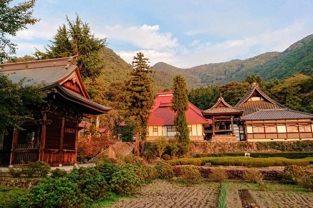 Nagano Japan Ganshoin Temple