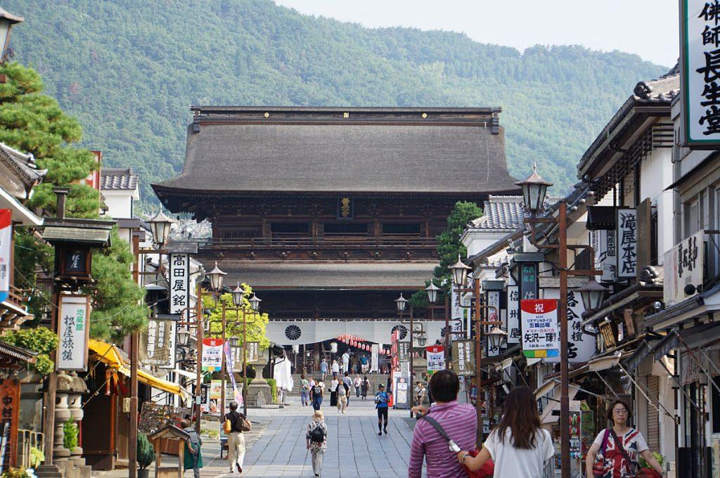 Nagano Japan Zenkoji Temple