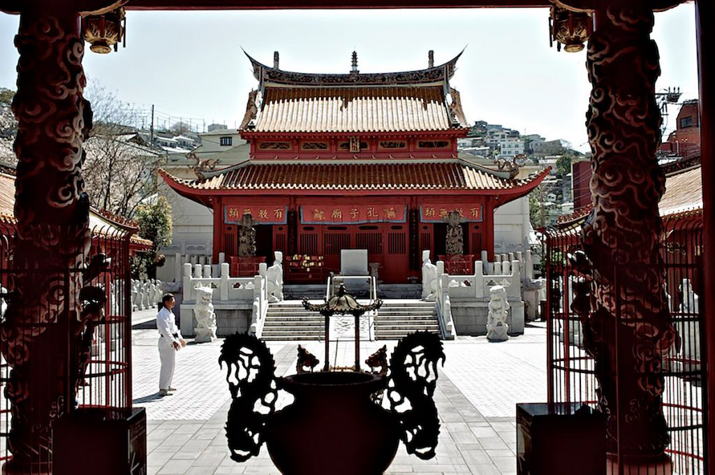Nagasaki Japan Place to visit Confucian Shrine