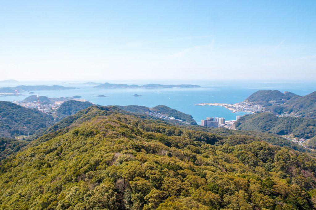 Nagasaki Japan Place to visit Mount Inasa