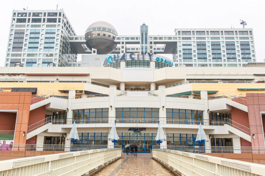 Things to do in Odaiba Japan Aqua City