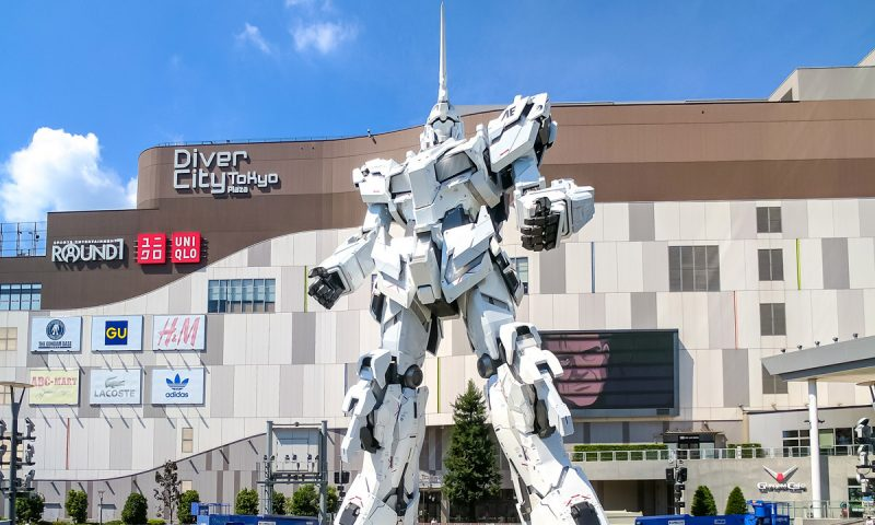 Odaiba Japan Gundam Robot
