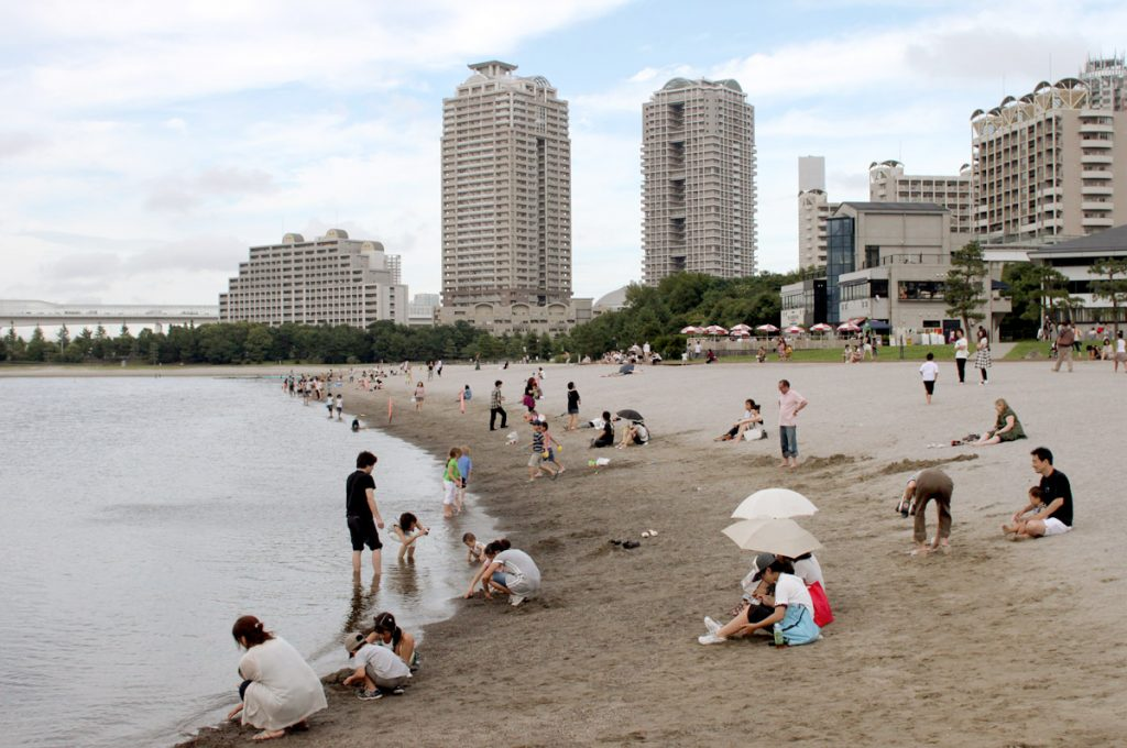 Things to do in Odaiba Japan Odaiba Seaside Park