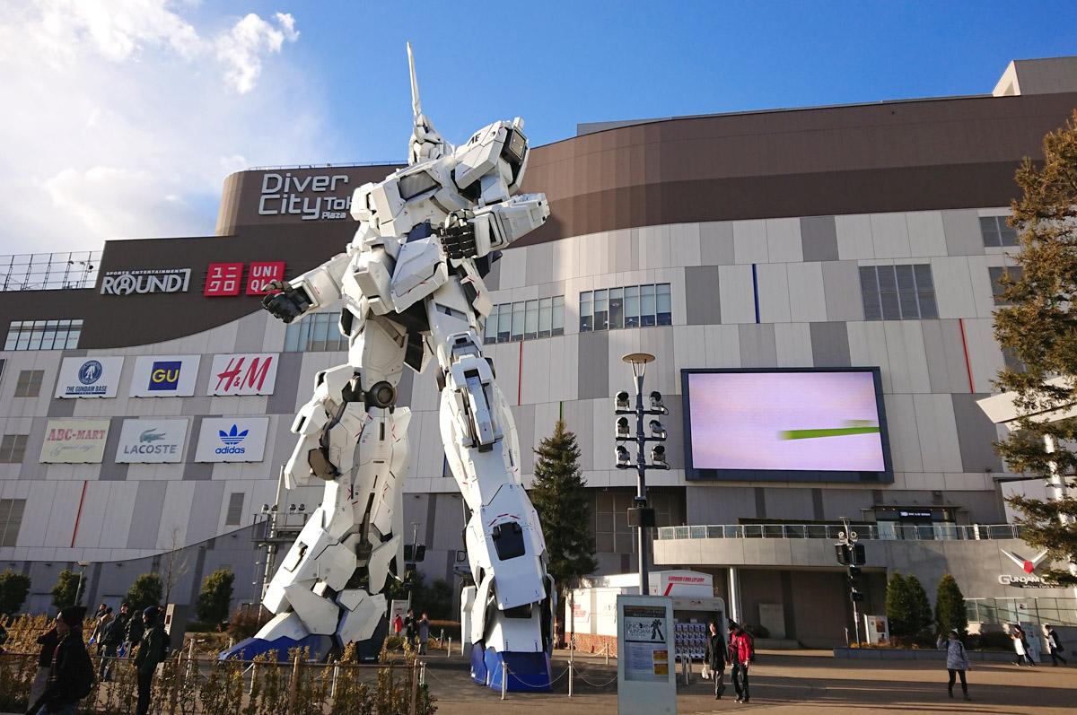 Odaiba Shopping DiverCity Tokyo Plaza