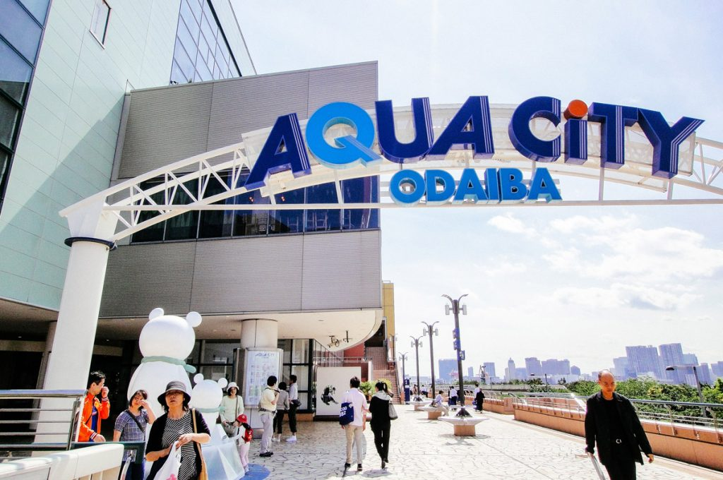 Odaiba Shopping Aqua City Odaiba