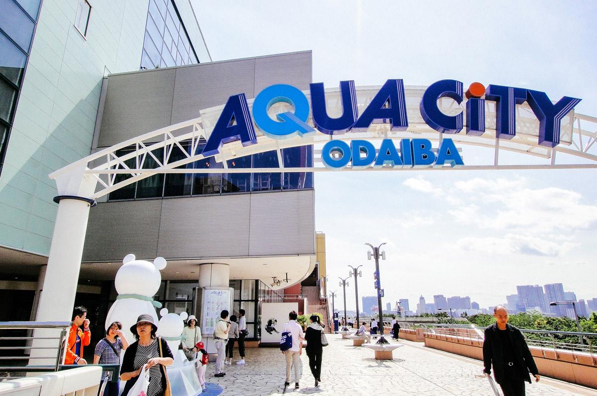 Odaiba Shopping Aqua City Odaiba