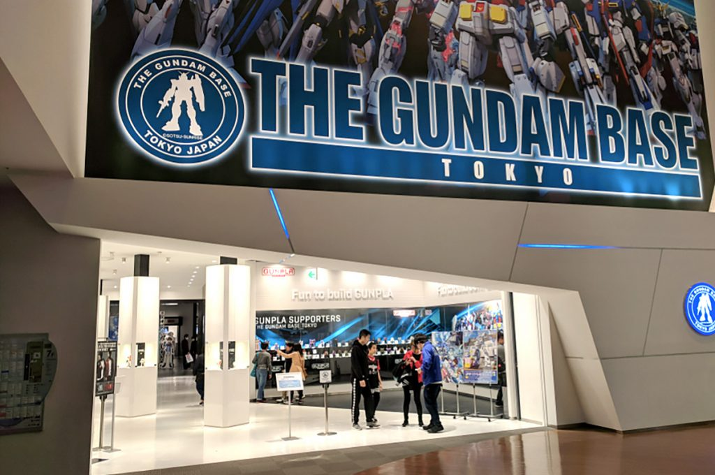 Odaiba Shopping Gundam Base Tokyo
