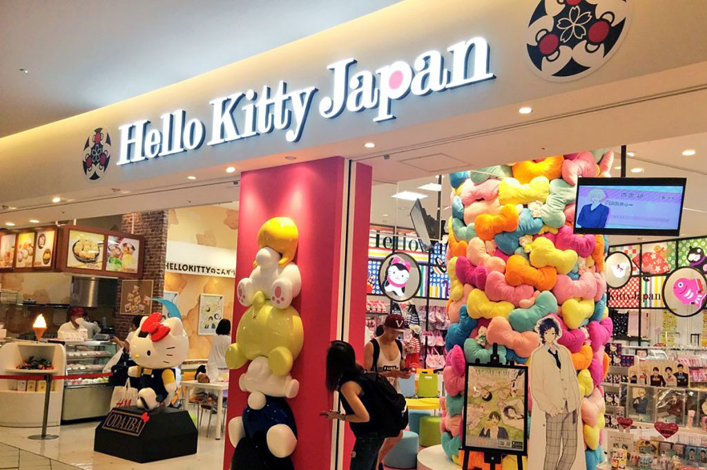 Odaiba Shopping Hello Kitty Japan