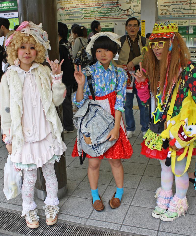 f230552eeda Kawaii Fashion -The Clothing Style Born in Harajuku