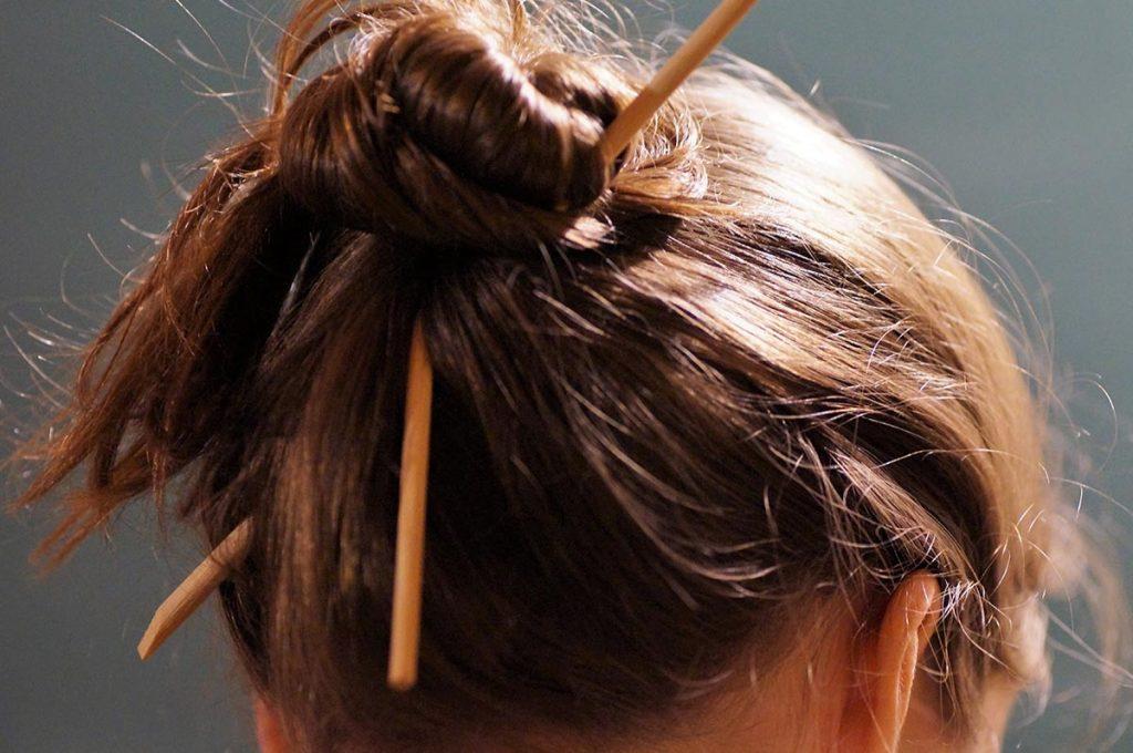 Chopstick Etiquette Japan hair