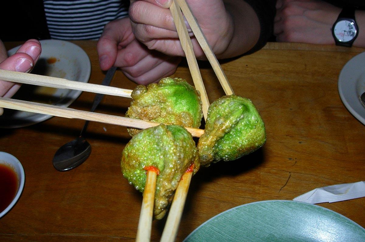 Chopstick Etiquette Japan Stab