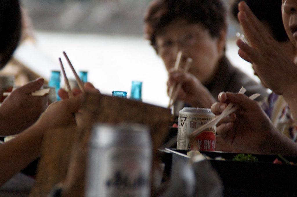 Chopstick Etiquette Japan Pointing