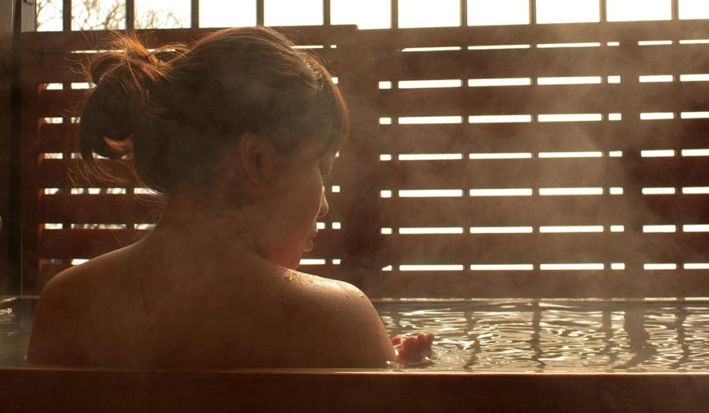 Japanese Manners onsen