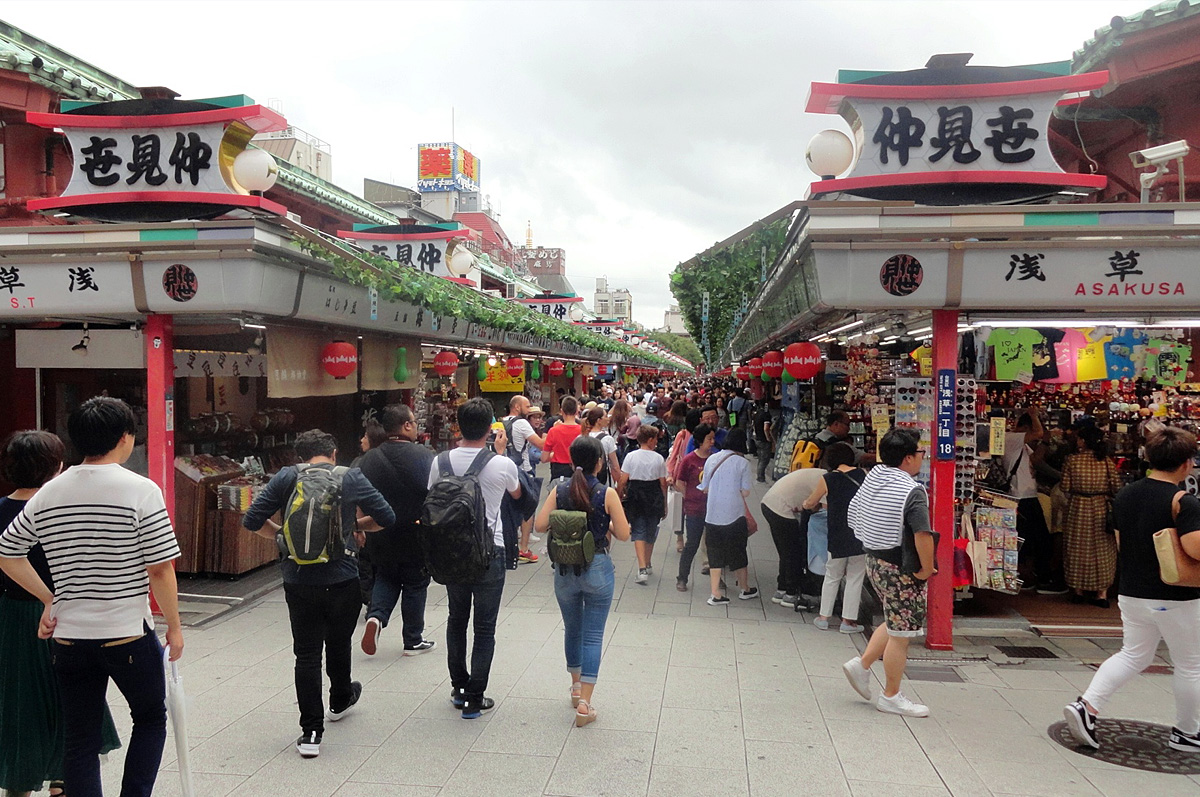 Asakusa Shopping Nakamise Dori