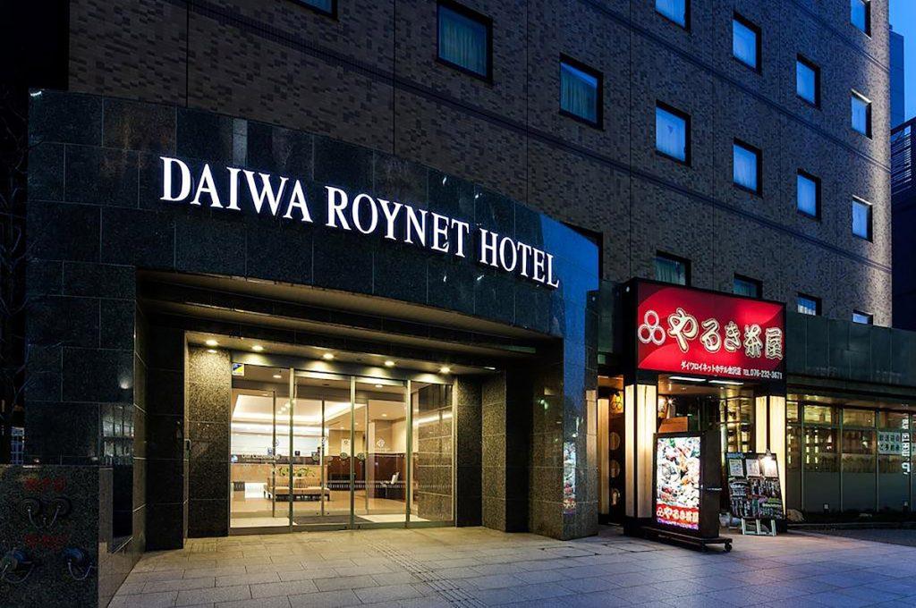 Kanazawa Japan Daiwa Roynet Hotel Kanazawa