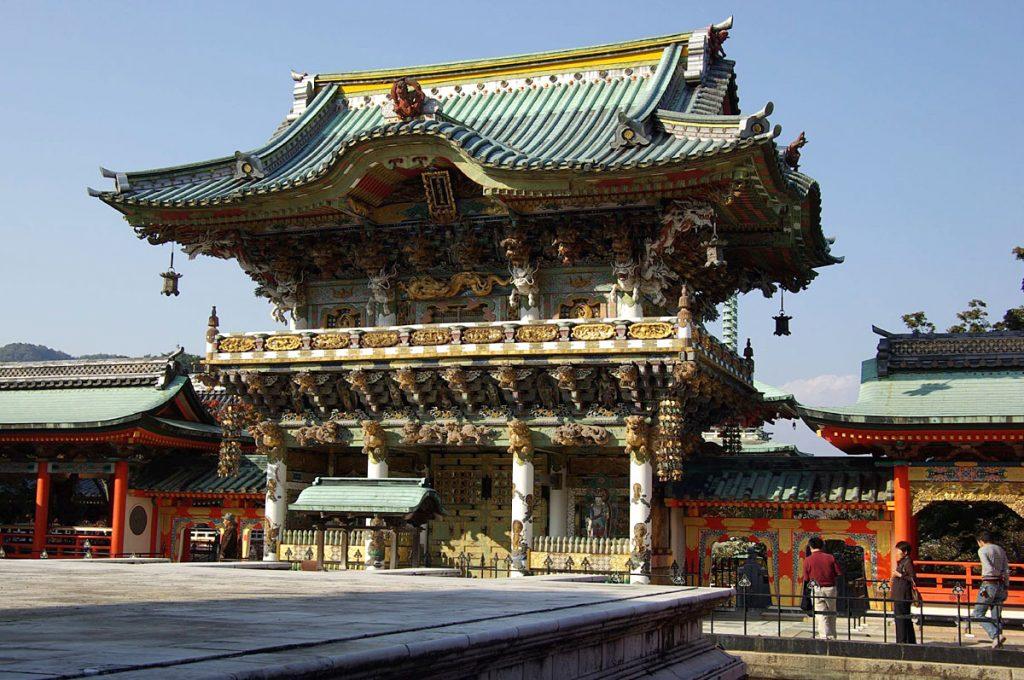Onomichi Japan Kosanji Temple