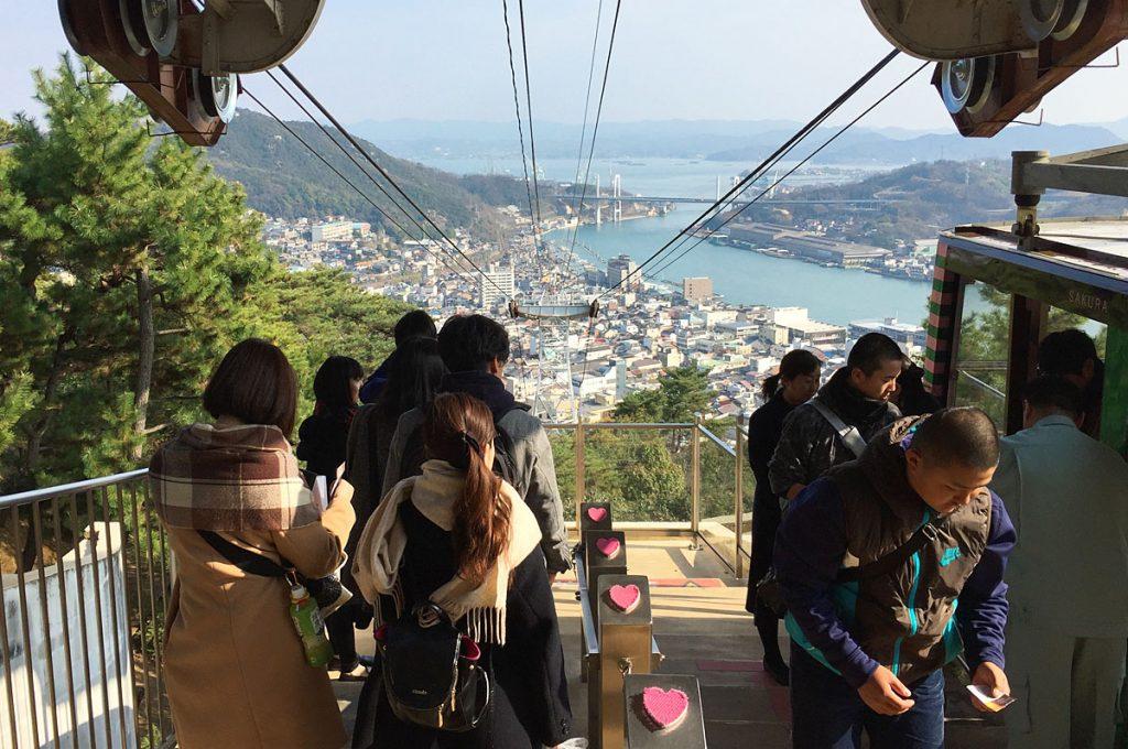 Onomichi Japan Senkoji Ropeway and Park