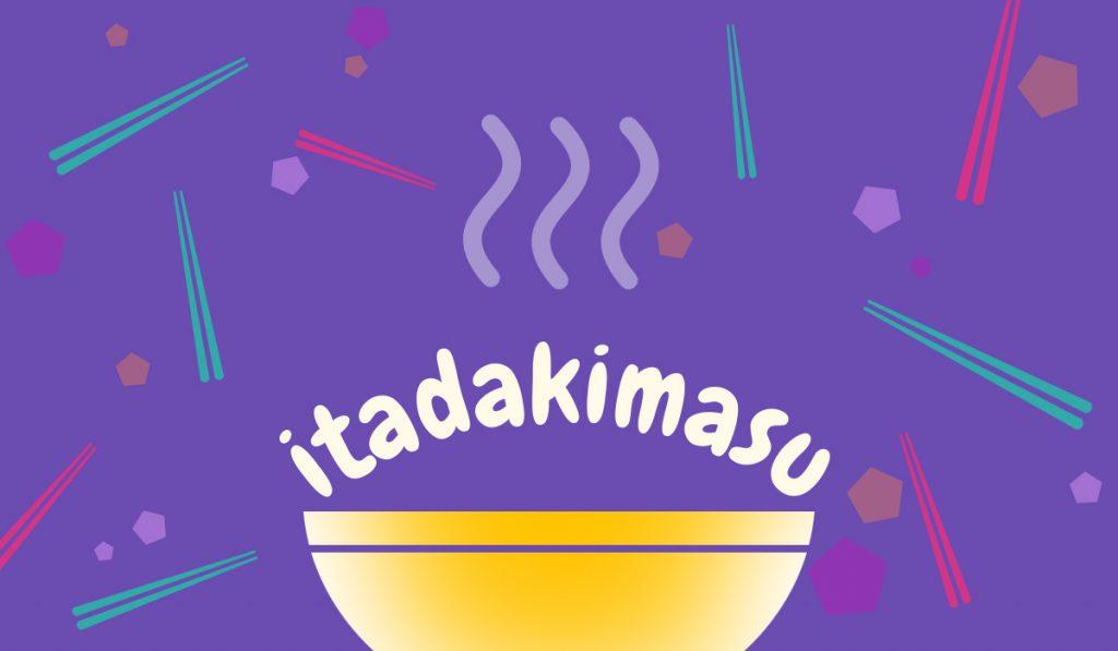 japanese expression itadakimasu