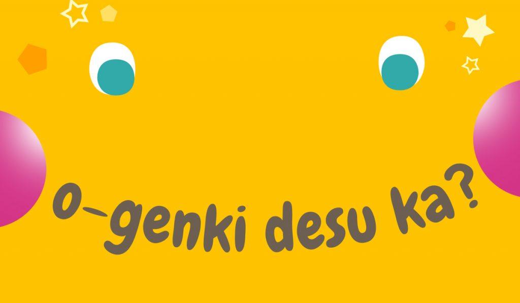 japanese expression o genki desu ka