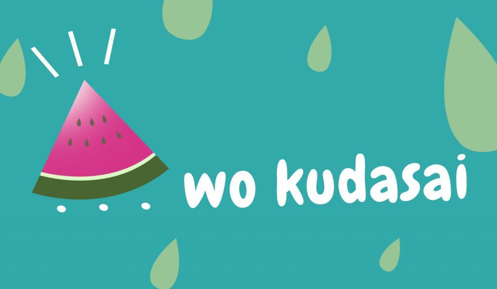 japanese expression wo kudasai