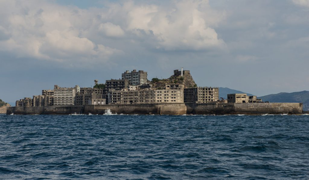 Dark Tourism Japan Hashima Island